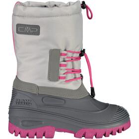 CMP Campagnolo Ahto WP Boots de neige Enfant, gris/rose